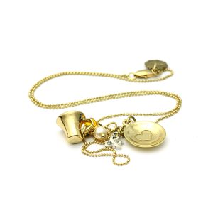 Nadia Minkoff Cup and Saucer Necklace