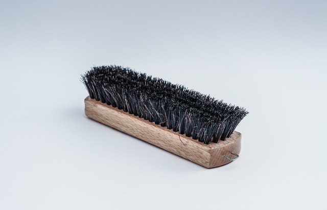Brush Cleaning Scrubber