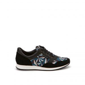 United Nude Runner Crystal Snorkel Black Sneaker