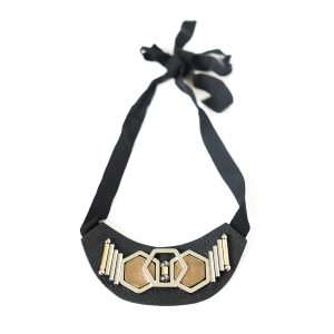 Wing Paris Jewellery Wasbi Bib Necklace